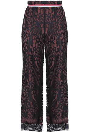 PETER PILOTTO Lace straight-leg pants