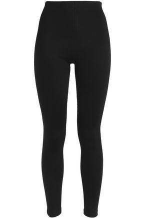 ALICE+OLIVIA Stretch-jersey high-rise leggings