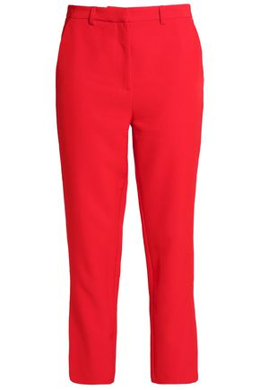 IRIS & INK Luca cropped crepe tapered pants
