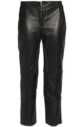 3.1 PHILLIP LIM Leather straight-leg pants