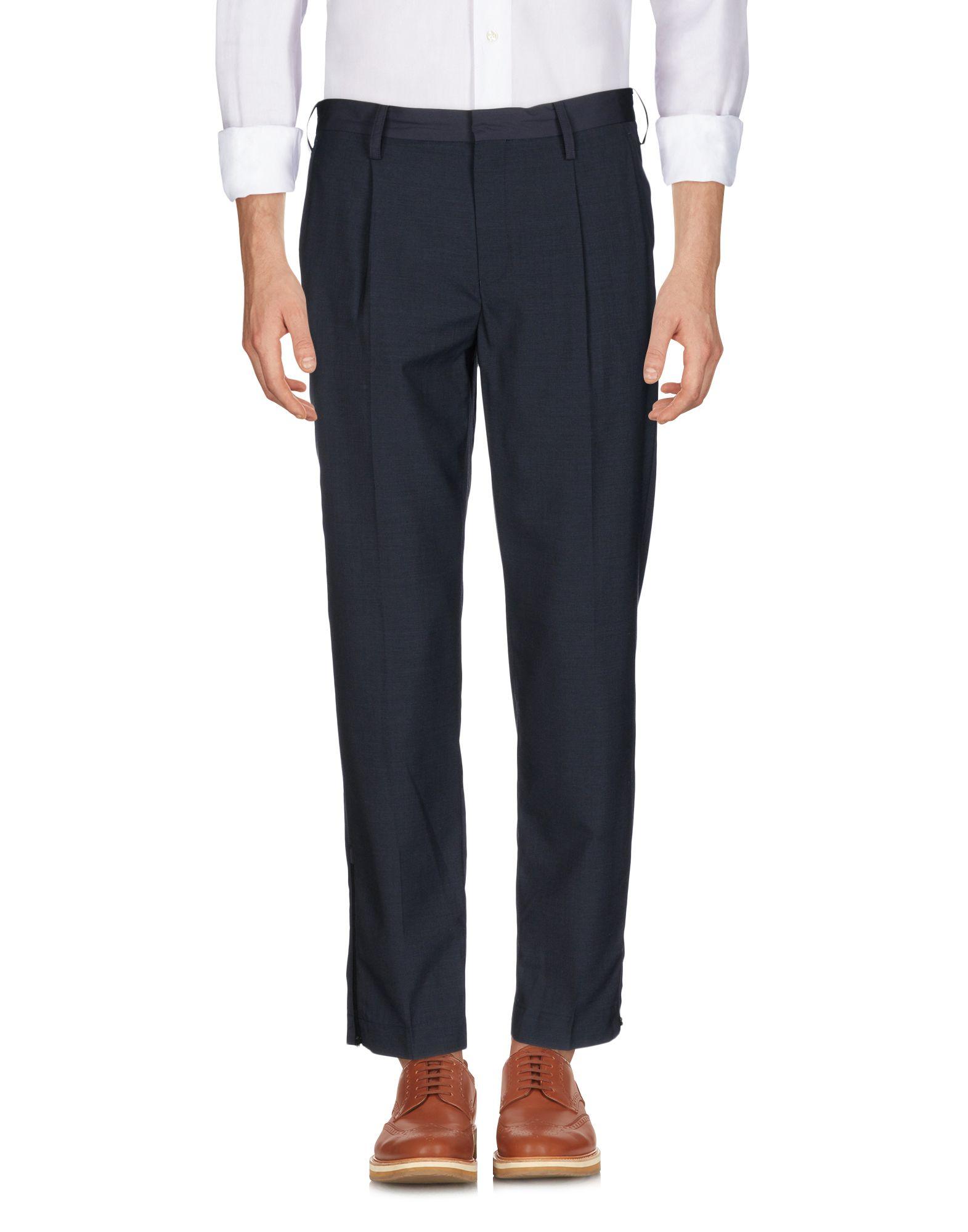 MARVY JAMOKE Casual Pants in Dark Blue
