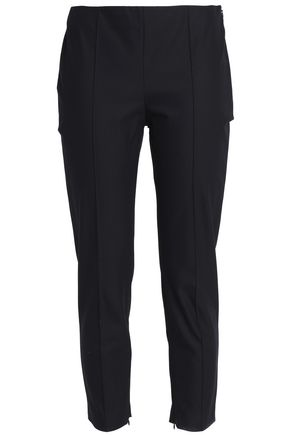 THEORY Cotton-blend tapered pants