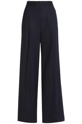 THEORY Wool wide-leg pants