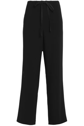 THEORY Winszlee crepe straight-leg pants