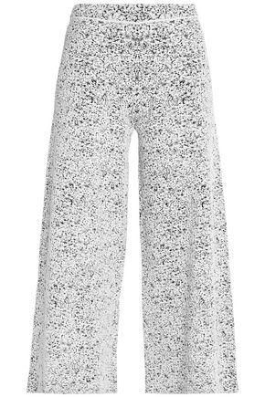 THEORY Jacquard-knit culottes