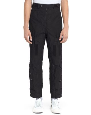 LANVIN WIDE MULTI-POCKET TROUSERS Pants U f