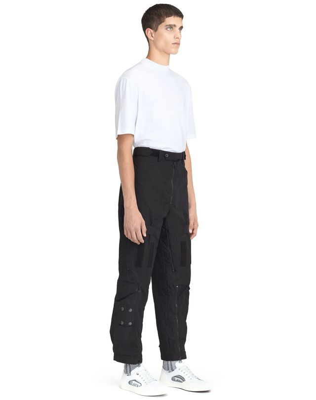 LANVIN WIDE MULTI-POCKET TROUSERS Pants U e