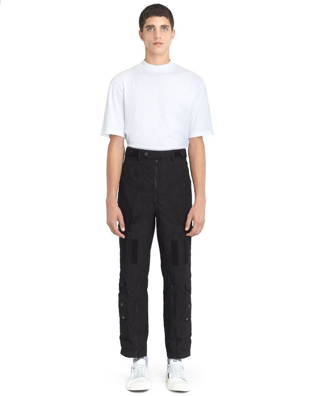LANVIN WIDE MULTI-POCKET TROUSERS Pants U r