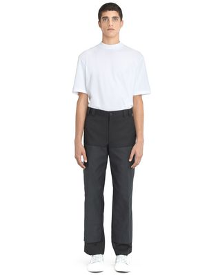 STRAIGHT-FIT TROUSERS WITH RIVETS