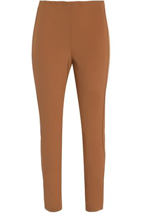 THEORY Stretch-cady slim-leg pants