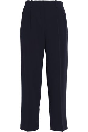 THEORY Straconi cropped crepe tapered pants