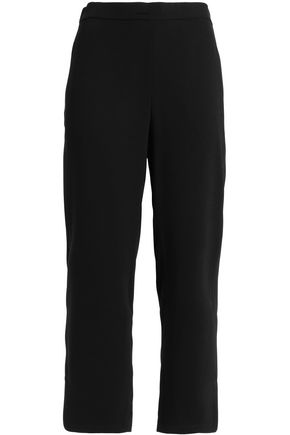 THEORY Crepe straight-leg pants