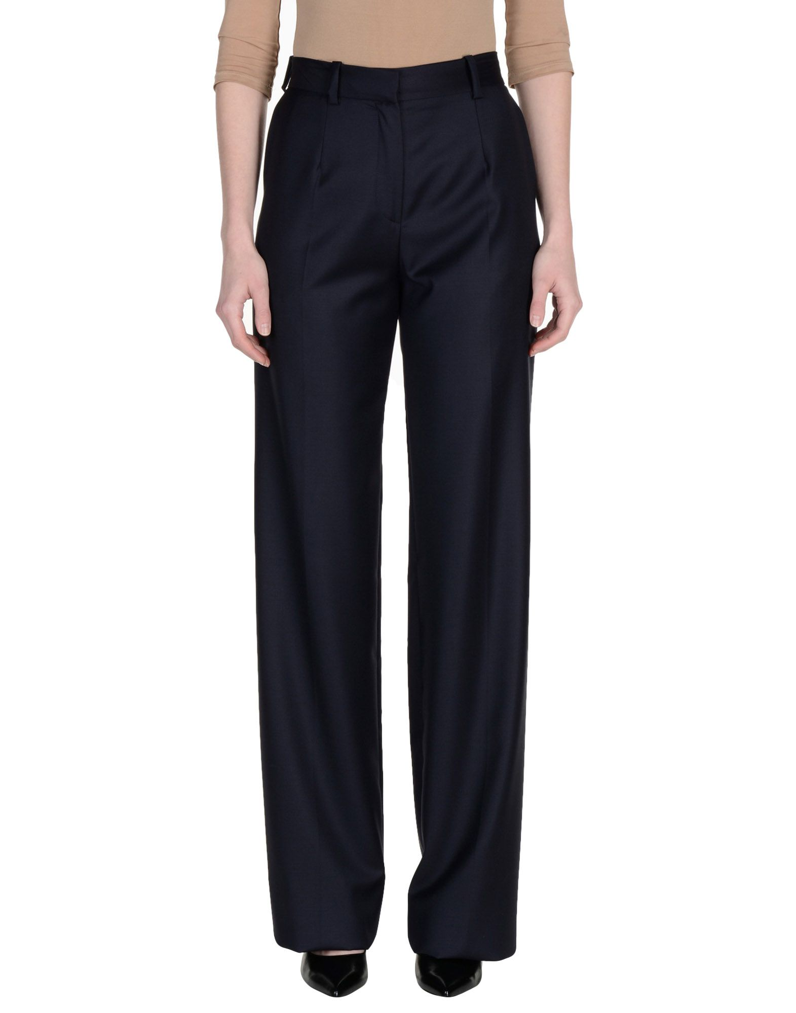 INES DE LA FRESSANGE Casual Pants in Dark Blue