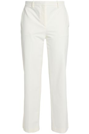 THEORY Cotton-twill straight-leg pants
