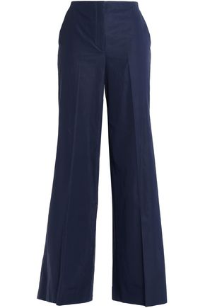 THEORY Cotton wide-leg pants