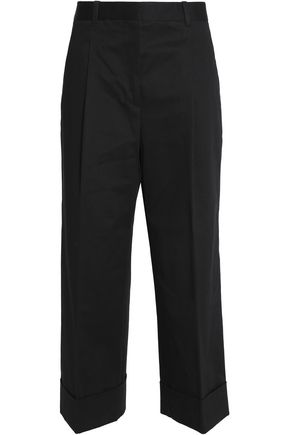 3.1 PHILLIP LIM Cotton-blend twill wide-leg pants