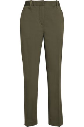 3.1 PHILLIP LIM Cotton-blend tapered pants