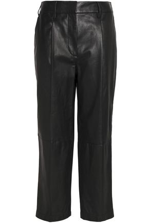 3.1 PHILLIP LIM Leather tapered pants