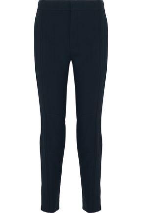 CHLOÉ Paneled twill skinny pants