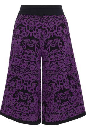 M MISSONI Jacquard-knit culottes