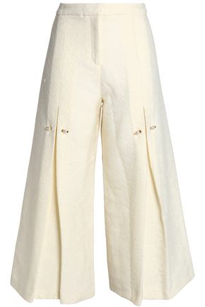 MOTHER OF PEARL Jacquard culottes