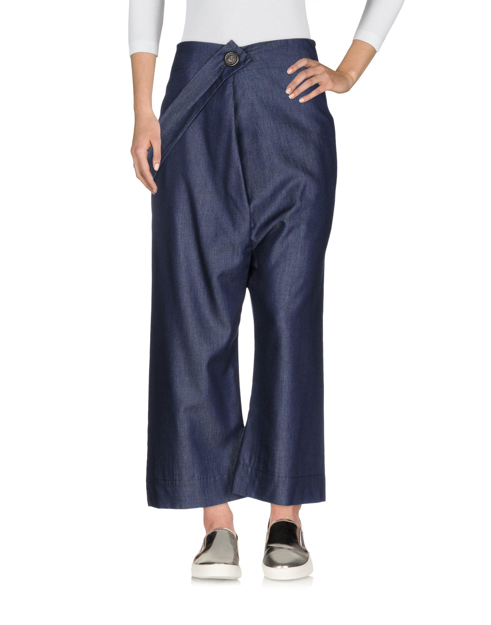 VIVIENNE WESTWOOD ANGLOMANIA Джинсовые брюки-капри рюкзак vivienne westwood vivienne westwood vi873bwvbz09