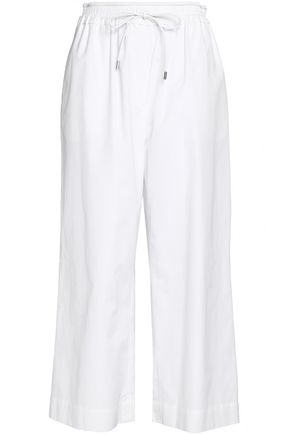 3.1 PHILLIP LIM Gathered cotton-poplin culottes
