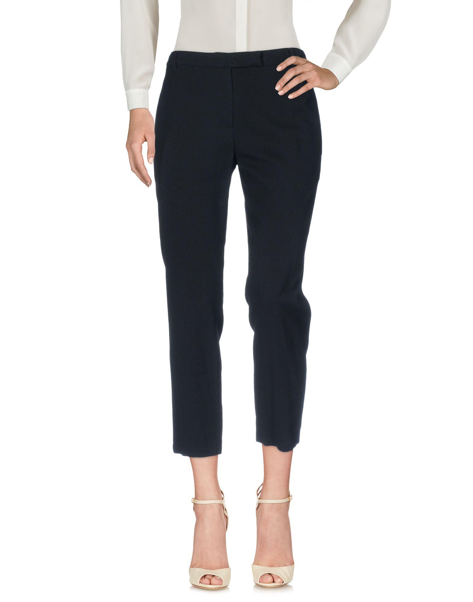 ANN DEMEULEMEESTER Повседневные брюки ann demeulemeester черные брюки из атласа