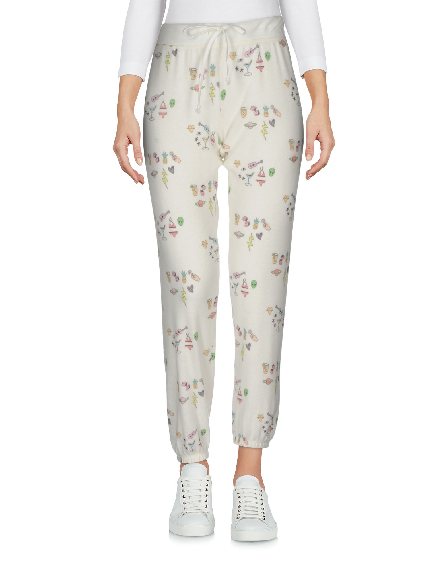 ALL THINGS FABULOUS Casual Pants in White