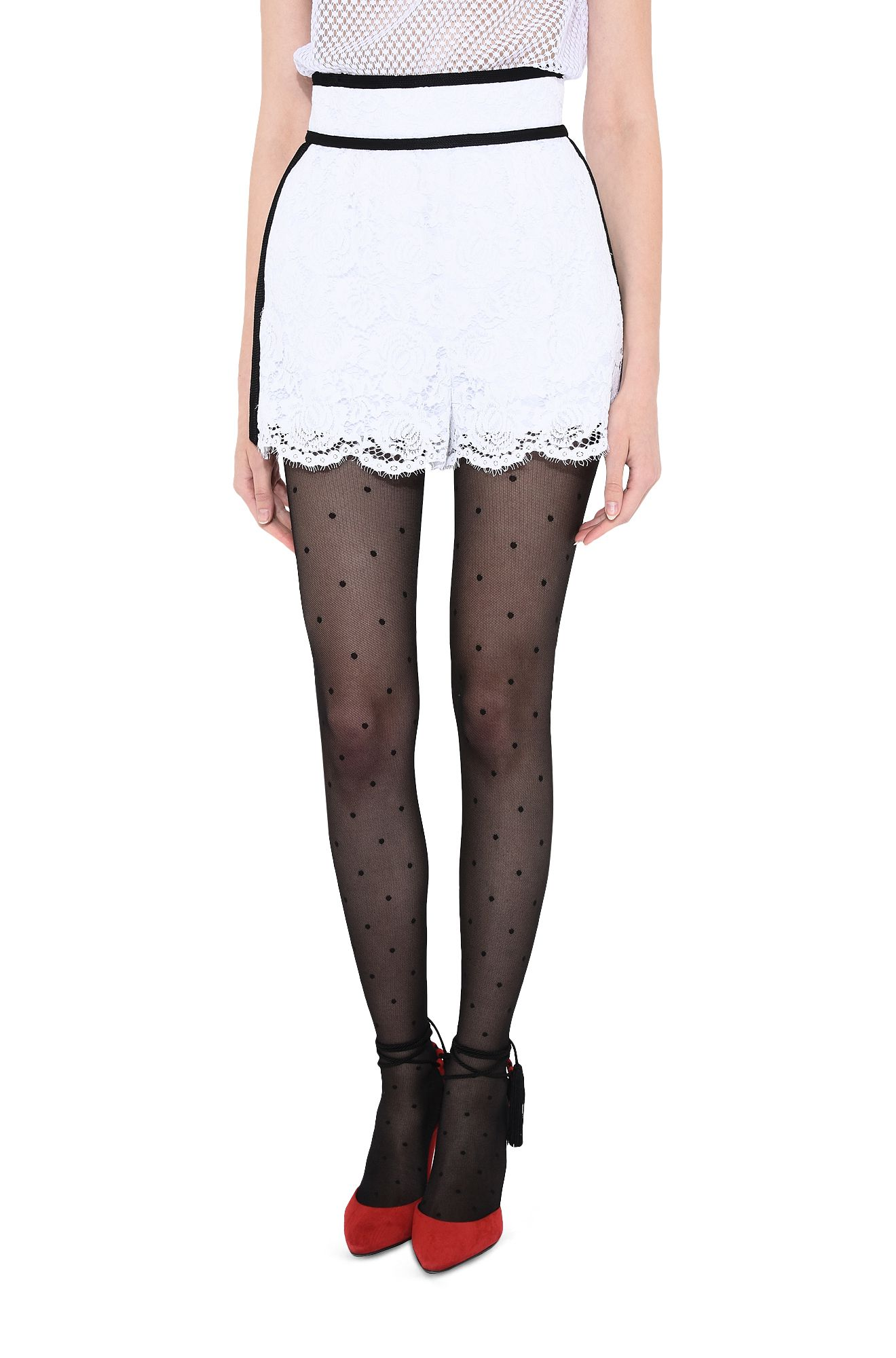 PHILOSOPHY di LORENZO SERAFINI PANTS Woman Romantic lace shorts r
