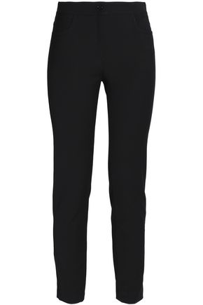 M MISSONI Cropped cotton-blend skinny pants