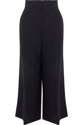 JIL SANDER Wool-twill culottes