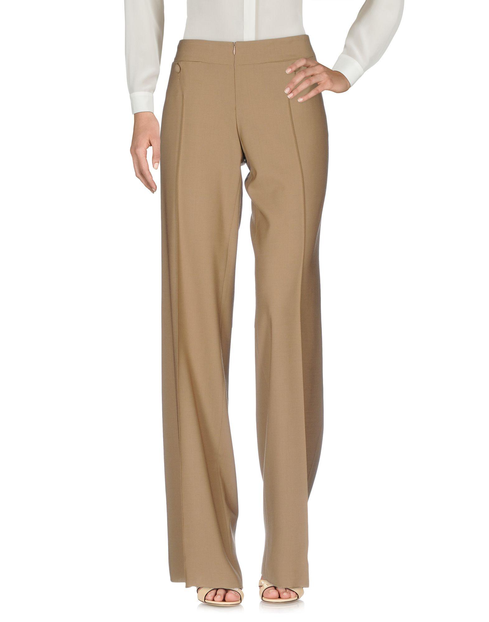 PIERANTONIO GASPARI Damen Hose Farbe Khaki Größe 4 jetztbilligerkaufen