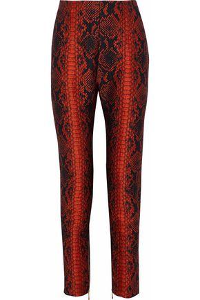 BALMAIN Jacquard-cloqué skinny pants