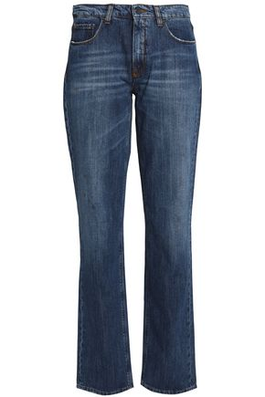 VICTORIA, VICTORIA BECKHAM Faded straight-leg jeans