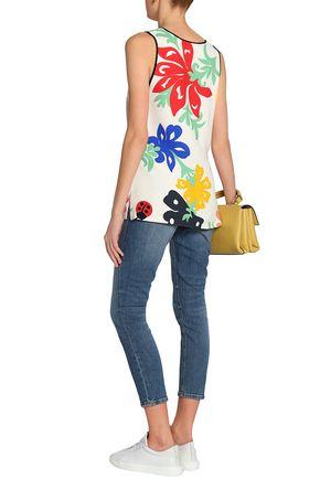 VICTORIA, VICTORIA BECKHAM Mid-rise slim-leg jeans