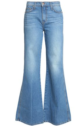 CURRENT/ELLIOTT HIgh-rise flared jeans
