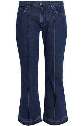 VICTORIA, VICTORIA BECKHAM Low-rise flared jeans