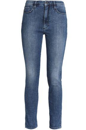 VICTORIA, VICTORIA BECKHAM Faded slim-leg jeans
