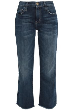 CURRENT/ELLIOTT Faded bootcut jeans