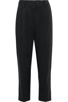 3.1 PHILLIP LIM Cotton-blend twill tapered pants