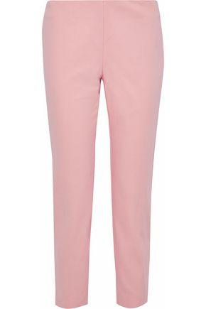 M MISSONI Cotton-blend cady slim-leg pants