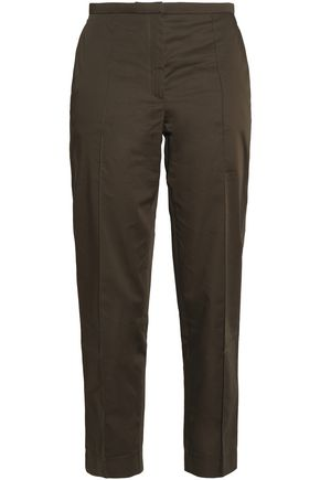 NINA RICCI Cotton tapered pants