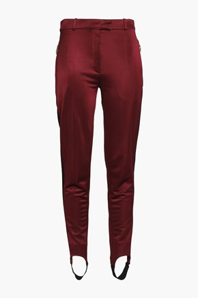 NINA RICCI Two-tone cady tapered pants