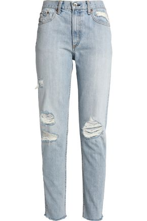 RAG & BONE Marilyn distressed boyfriend jeans
