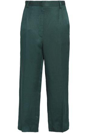 MM6 MAISON MARGIELA Linen-blend culottes