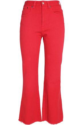 MM6 MAISON MARGIELA High-rise flared jeans