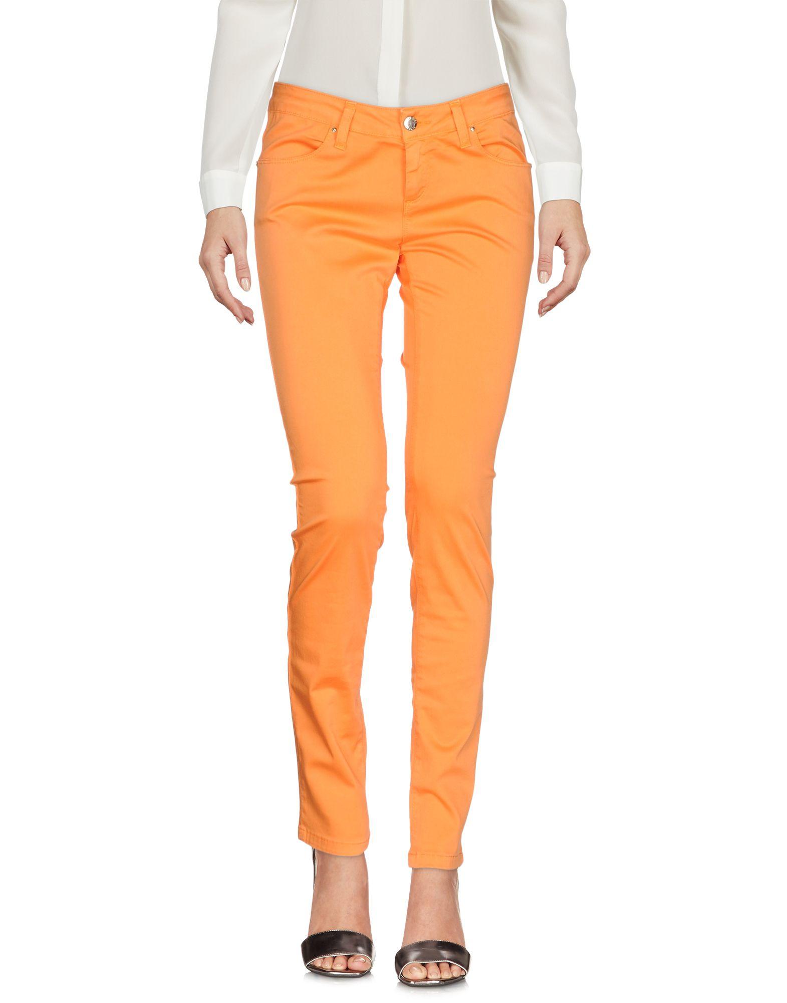 《送料無料》FLY GIRL レディース パンツ オレンジ 26 コットン 98% / ポリウレタン 2%