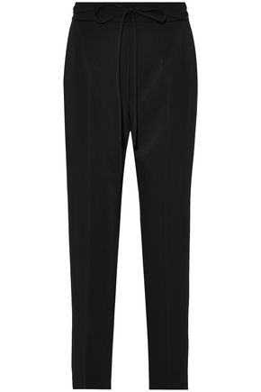 T by ALEXANDER WANG Twill straight-leg pants