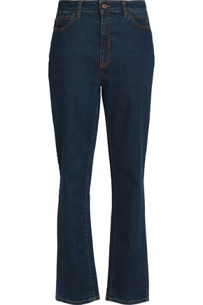 JUST CAVALLI High-rise straight-leg jeans